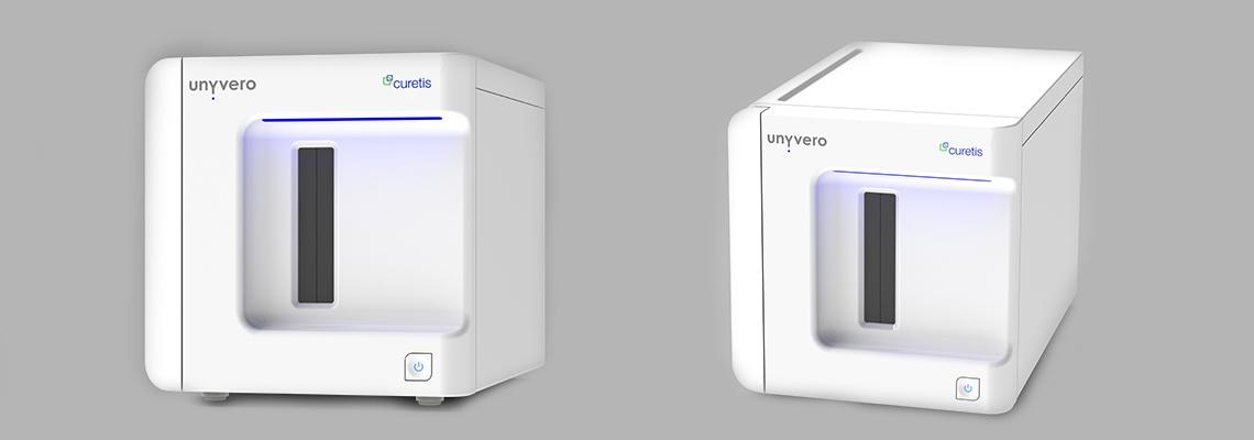 Komplettansicht des Projekts Unyvero A30 RQ mit der Firma Curetis GmbH
